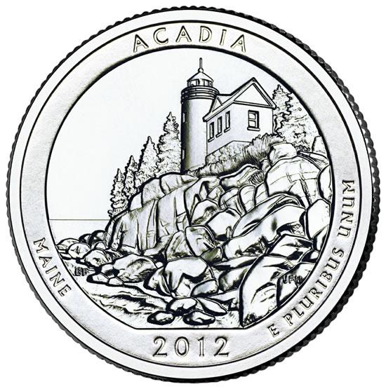 2012 ATB El Yunque National Park PR Quarter San Francisco /'S/' Mint Uncirculated