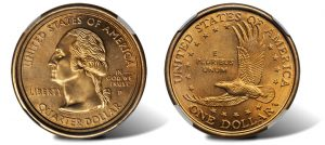 Sacagawea dollar-quarter mule error