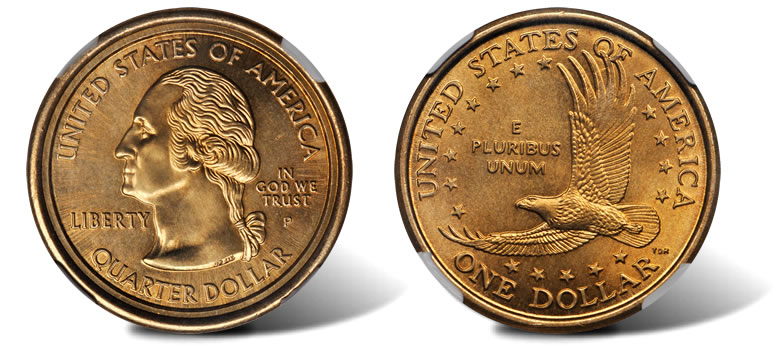 Sacagawea Dollar Quarter Mule Error To Be Sold In August