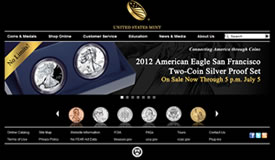 US Mint Site