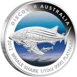 Whale Shark Platinum Proof Coin