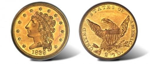 1839 Quarter Eagle