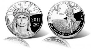 2011-W Proof Platinum Eagle