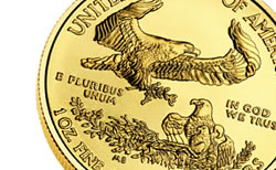 2012 American Gold Eagle Reverse