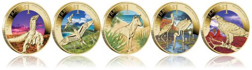 2012 Celebrate Australia $1 Coins