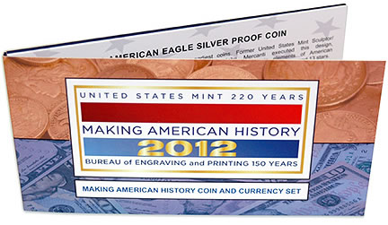 Making American History Coin & Currency Set