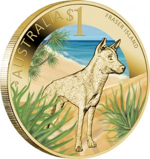 World Heritage Site Fraser Island $1 Coin