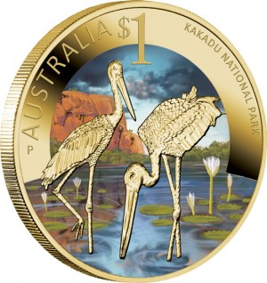 World Heritage Site Kakadu National Park $1 Coin