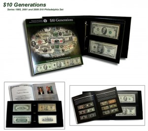 $10 Generations Currency Set