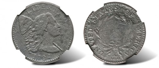 1794 Large Cent Head of 1794