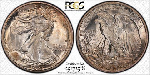 1923-S 50c Forsythe MS67