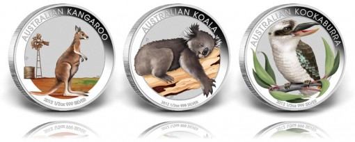 2012 Australian Outback Collection Coins