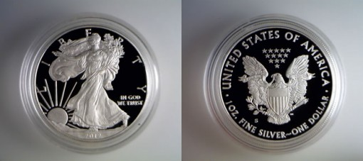 2012-S Proof Silver Eagle