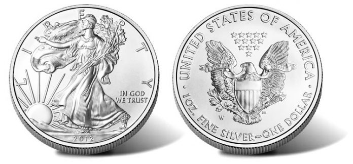 2012-W Uncirculated American Silver Eagle