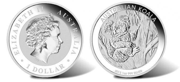 2013 Australian Koala Silver Bullion Coin
