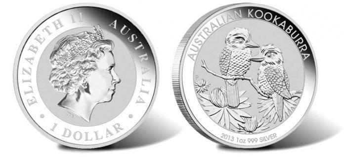 2013 Australian Kookaburra Silver Bullion Coin