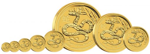 2013 Year of the Snake Gold Bullion Coins