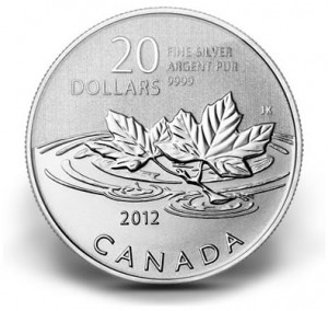 Canadian $20 Farewell to the Penny Silver Coin