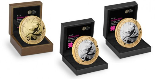 London to Rio Olympic Games Handover Coins