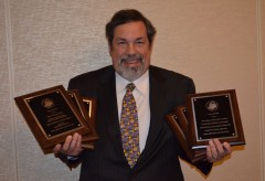 Mike Fuljenz with six 2012 NLG awards