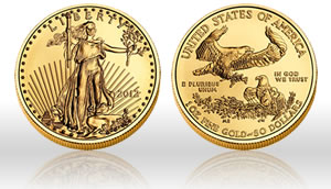 2012 American Eagle Gold Coin