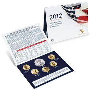 2012 Annual Uncirculated Dollar Coin Set