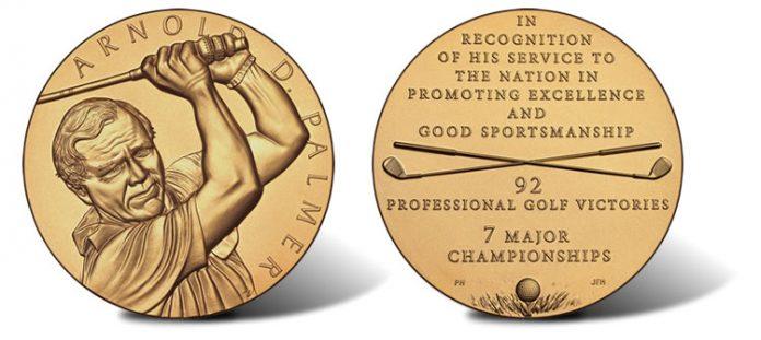 Arnold Palmer Bronze Medal
