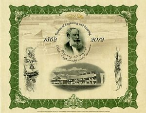 150th Anniversary Clark Intaglio Print