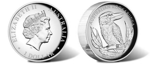 2012 Kookaburra High Relief Coin