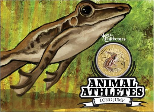 2012 Rocket Frog $1 Coin Presentation Card