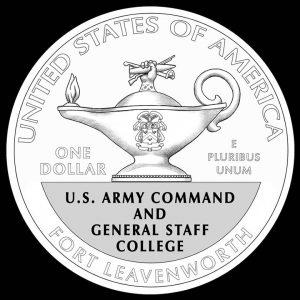 2013 $1 5-Star General Commemorative Silver Coin Reverse Design