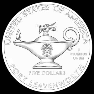 2013 $5 5-Star General Commemorative Gold Coin Reverse Design
