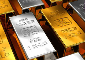 Fine Gold and Silver Bars