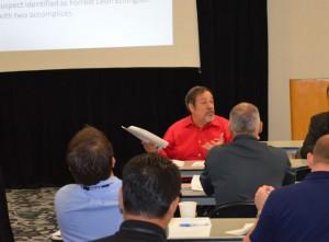 Mike Fuljenz at police seminar