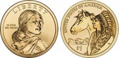 2012 Native American $1 Dollar Coin