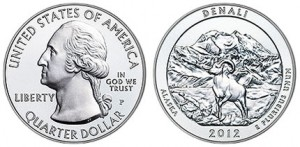 2012-P Denali National Park and Preserve Silver Uncirculated Coin