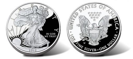 2012-W Proof American Silver Eagle