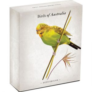 2013 Budgerigar Silver Proof Coin in Shipper