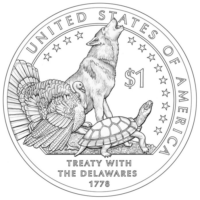 2013 Native American Dollar Design