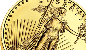 American Eagle bullion gold coin