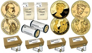 Cleveland Dollars and First Spouse Gold Coins