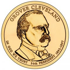 Grover Cleveland (Second Term) Presidential $1 Coin