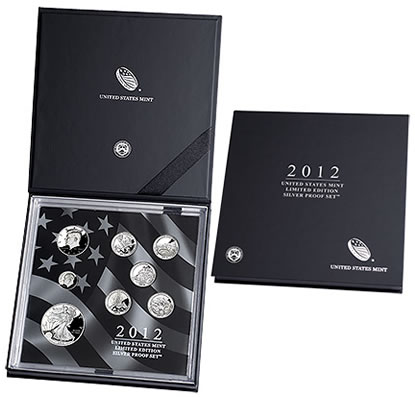 US 2012 Limited Edition Silver Proof Set