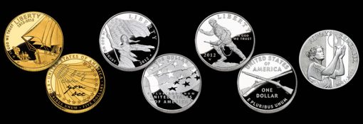 2012 Commemorative Coins and September 11 National Medals