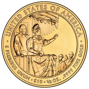 2012 Frances Cleveland (Second Term) First Spouse Gold Coin - Uncirculated Reverse