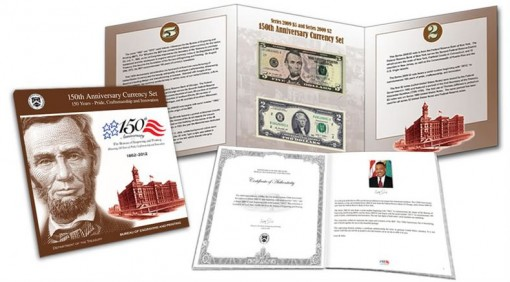 2012 Limited Edition 150th Anniversary Currency Set