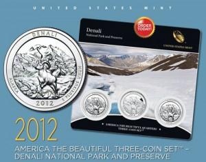 Denali Quarters Three-Coin Set