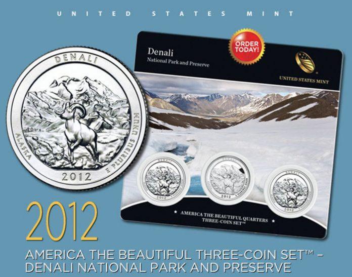 Denali Quarters Three-Coin Set
