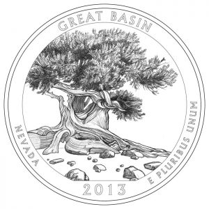 Great Basin National Park Quarter and Silver Coin Design