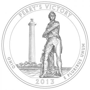Perry's Victory and International Peace Memorial Quarter and Silver Coin Design